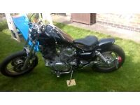 yamaha virago ,bobber , very light project
