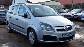Zafira 1.9 diesel 2007, 7seater Low Miles
