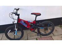 "Max bike full suspension size 20"" wheels"