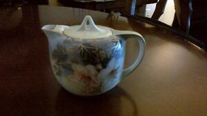 Antique hand painted tea pot