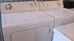 Ensemble laveuse-sécheuse grande capacité:livré:ess.seulement