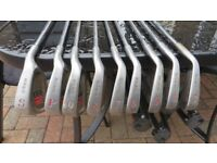 Full set of Howson DJ100 oversize irons and two woods