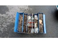 6 tool boxes plus contents as shown in pictures good carboot joblot