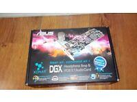 ASUS XONAR DGX HEADPHONE AMP & AUDIO CARD