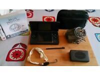 Original Nintendo DS, with accessories. Model USG-001.