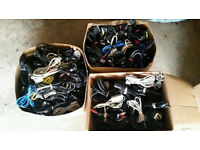 200+ of different cables Ethernet Scart Printer ADSL PC power and others. Carboot sale job lot