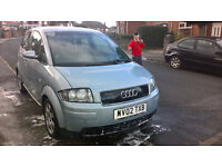 AUDI A2 2003 BREAKING ALL PARTS £1