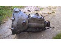 Reliant gearbox rialto