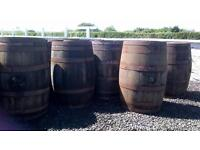 Whiskey barrels clearence, all sizes