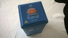 doctor who ' vintage video box set ' plus ' doctor who micro figures