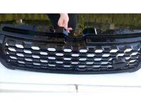 range rover evoque black gloss grill