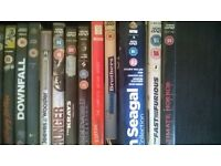 assorted dvds and box sets