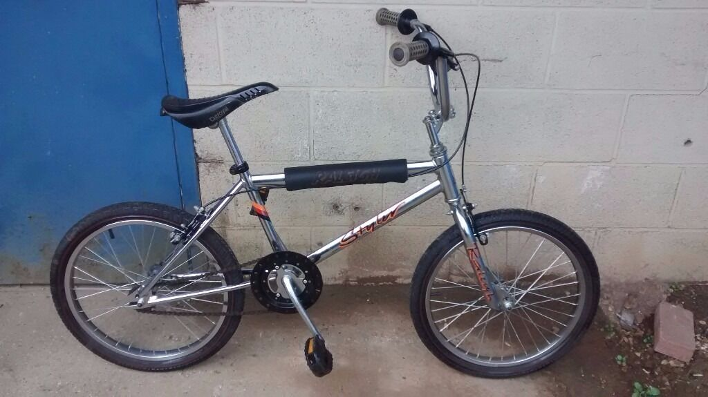 Rare Collectable Raleigh Styler Carbo Spec Bmx Bike In Eynesbury