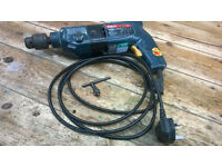 Used Bosh CSB 650 2 RLE Hammer drill, profesional by the colour Blue casing, new brushes fitted.