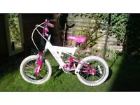 """Child's bike - 16"""" wheel size, ages 4-7yrs"""