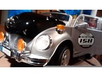 an 'as new' Electric ride on VW Beetle (6 volt)