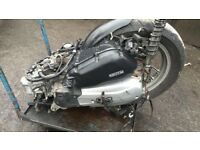 Honda sh125i engine 2015-2016