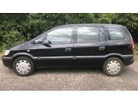 VAUXHALL ZAFIRA LIFE 7 SEATER 1.6L (2004) year mot ready to drive away