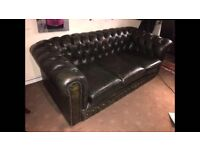 Chesterfield three seater for sale