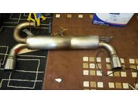 Mk2 mr2 stainless exhaust