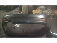 BMW 520 E90 REAR BUMPER GREY