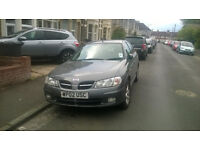 Nissan Almera Hurricane 2002 (Limited Edition) NEW MOT