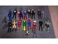 Selection of Superhero Toys