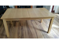 Ex Oak Furniture Dining Table
