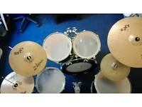 Drum Kit Full Size Sonor and Zildjian