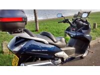 Honda Silverwing , fsh, pearl blue, lovely condition, well maintained, honda reliability, low miles.