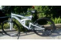 Full suspension mountain bike for swap