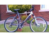 Claud Butler Mountain Bike.. Quality Brand..Good Condition..Front Disc Brake..Mudguards..Alloy Frame