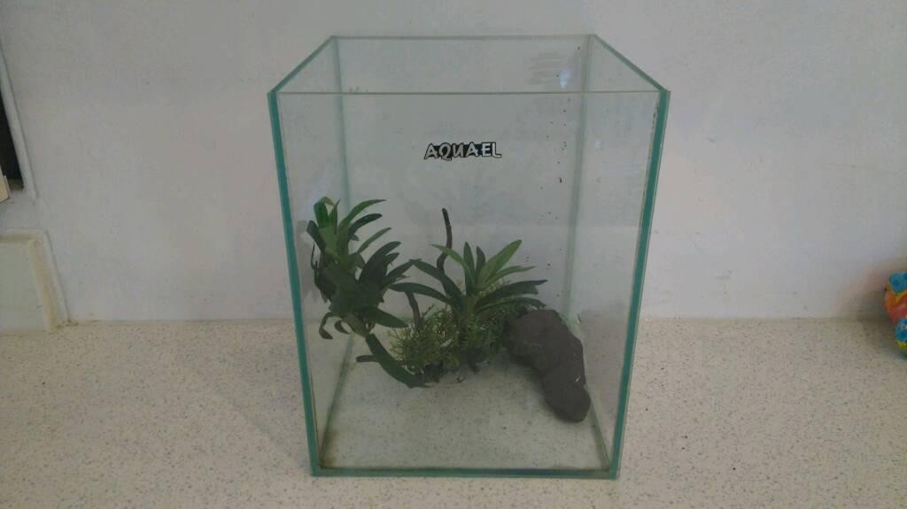 Nano cube fish tank , aquarium.