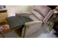 Configura Rise and Recliner chair £1800 NEW six months old perfect central London bargain