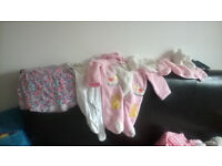 Baby girl clothes(3-12 months)