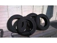 Matador Nordica winter tyres 185/60 R14 82T, set of 4, done less than 8000 miles.