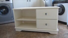 upcyled 2 draw cream cabinet