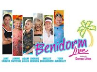 BENIDORM TICKETS BELOW ARE £52 FACE VALUE DON'T DO IT