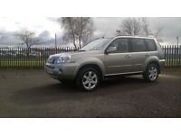 Nissan X-trail Columbia +1 Year MOT, Warranty, Finance available, Great vehicle for towing.