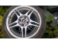 4 tsw twin blades 4x100 Vauxhall fitment