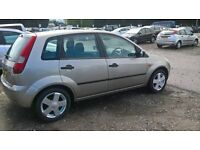 2002 FORD FIESTA LOW MILEAGE DRIVES SUPERB