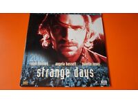 STRANGE DAYS THX LASER DISC VERSION WIDESCREEN EDITION RALPH FIENNES GATEFOLD SLEEVE