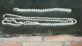 3 pearl necklaces
