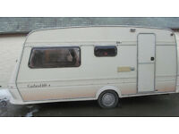 4 BERTH FLEETWOOD GARLAND. CRIS REGISTED WITH A FULL AWNING READY TO USE