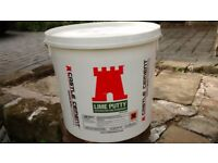 4 20kg tubs of Lime Putty