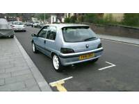 Peugeot 106 silver great car brand new parts and long mot