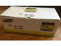 SAMSUNG ML-4500 & ML-4600 LASER TONER CARTRIDGE (GENUINE SAMSUNG) BRAND NEW SEALED ML-4500D3