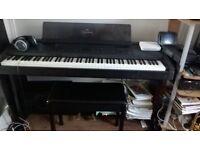 Yamaha Piano, Digital Clavinova CVP-8 and stool