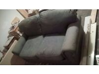Sofa bed - double, green - 100% to charity