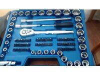 Kincrome socket & tool set